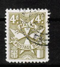 Malta Postage Due 1925 SG D17 Used