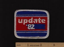 1982 HONDA TECH UPDATE 82 Original Technician PATCH Vintage Motorcycle CB750 CBX