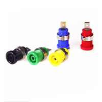 5Pcs 4mm Banana Female Jack Socket Panel Mount Binding Post Plug
