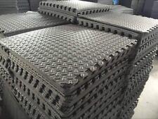 Large Black Caravan Awning Floor Mat Foam Garden Mats Camping 10mm thickness