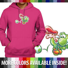 Baby Mario Yoshi Egg Nintendo DS Island Pullover Hoodie Jacket Hooded Sweater
