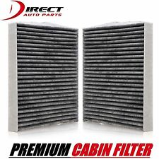 2 OEM Quality Toyota Charcoal Cabin Air Filter 87139-07010 & 87139-YZZ10