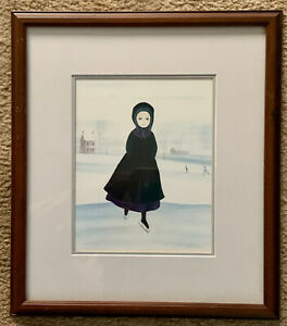 """John Malassa Limited Edition 407/1000 """"On The Pond"""" w/COA Matted & framed"""