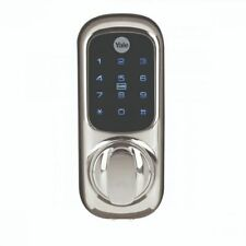 Yale Keyless Connected Touch Screen Smart Door Lock - CHROME - RFID - PIN CODE