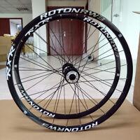 RXR 26/27.5/29in MTB Mountain Bike Wheelset Disc Brake QR/Thru Axle Wheels Bike
