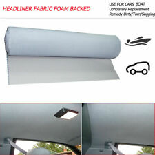 Headliner Fabric Foam Backed Upholstery Roof Line Sagging Replace 90