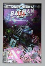 Batman The Murder Machine #1 Dark Nights Metal 1st Printing Foil Cover