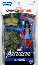 Marvel Legends ~ MS. MARVEL (KAMALA KHAN) ~ GAMERVERSE ~ ABOMINATION BAF SERIES
