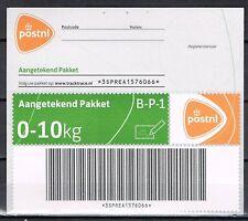 Pakketzegel PostNL logo aangetekend 0-10 kg