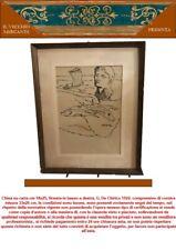 GIORGIO DE CHIRICO (1888-1978) ANTICO DIPINTO QUADRO FIRMATO EPOCA 800 900