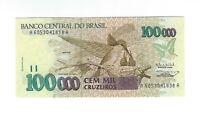 100000 Cruzeiros Brasilien 1993 C228 / P.235b UNC