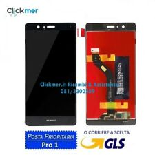 SCHERMO DISPLAY LCD+TOUCH COMPLETO HUAWEI P9 LITE NERO BLACK VNS L-31