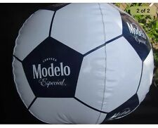 Modelo White Soccer Ball Inflatable Beer Blow Up especial