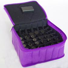Cosmetic Bag Essential Oil Perfume Carrying Case Nail Polish Storage Organizer
