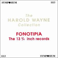 FONOTIPIA: THE 13 3/4 INCH RECORDS USED - VERY GOOD CD