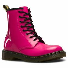 d45462cf2 Dr Martens Delaney Youth Hot Pink Patent Ankle BOOTS 5 UK / 38 EU