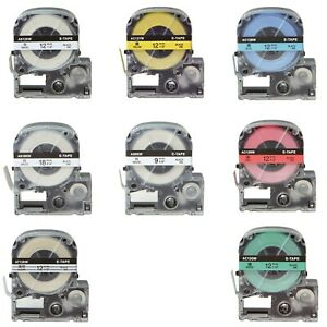 Compatible for EPSON LabelWorks LW-700 LW-600P LW-500 LW-400 Label Tape Ribbon