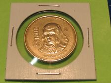 JUANA De ASBAJE LARGE BRONZE MEXICAN 1988 ....combine shipping 10 coins $2.60