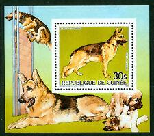 Guinea 1985, Berger Allemand German Shepherd, Dog, S/Sheet, MNH 406