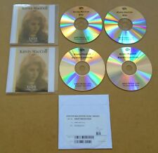 KIRSTY MACCOLL Days 2018 UK promo test 4-CD + DVD with press release