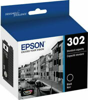 Epson Genuine #302 BLACK Ink for Expression Premium XP6000/XP6100 - NEW