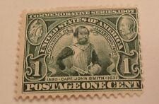 SCOTT #328  1C  1907 JAMESTOWN ISSUE MINT