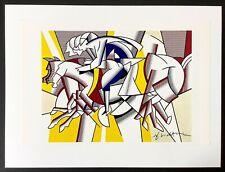 Hand signed signature - ROY LICHTENSTEIN - Pop Art - Vintage 1970 print