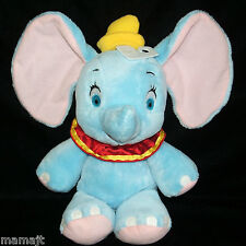 "Walmart Baby Dumbo Red Ruffle Collar Blue 13"" WMDREAMZ Plush Stuffed NEW"