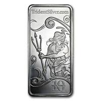 10 oz Silver Bar - Trident - SKU#76694