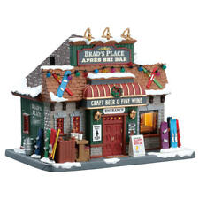 Lemax Christmas Village Building Brad's Place House Christmas Gift # 75208