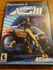 Sony Playstation 2 PS2 Game X63 Extreme G Racing With Manual excellent CD