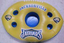 NEW THE NFL JACKSONVILLE JAGUAR FLOATING POOL DRINKS & SNACKS BAR INFLATABLE
