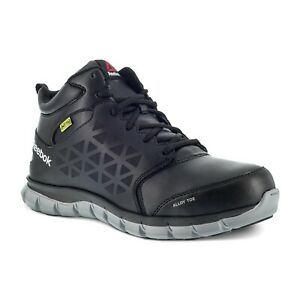 Reebok Work Men's Sublite Cushion Alloy Toe Work Boot Met Guard - All Colors - A