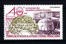 TAAF - PA - 1987 - 40° anniversario delle spedizioni polari francesi