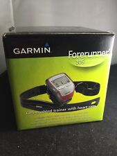GARMIN-Forerunner 305-GPS Heart Rate Monitor Box And All Accessories,no charger