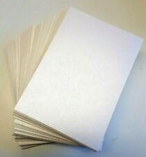 bougie ou boîte cadeau invitations A4 blanc mariage parchemin Boîtes Choisissez Quantité