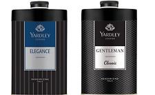 Yardley London Elegance & Gentleman Classic Deodorizing Talc for Men 250gm x 2