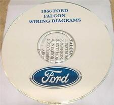1966 FORD FALCON WIRING DIAGRAM MANUAL ON CD