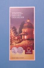 """Folder Flyer 20€ Silber Münze 2018 """"200 Jahre Stille Nacht"""" Österreich ..."""