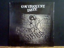 GOVERNMENT ISSUE  Boycott Stabb   LP  Hardcore U.S.   reissue   SEALED.  MINT !