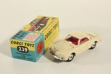 Corgi Toys 239, Volkswagen 1500 Karmann Ghia, Mint in Box                #ab2258