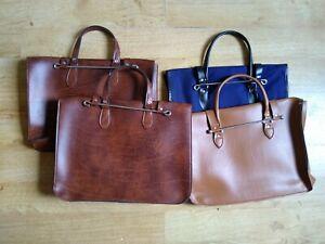 Vintage style Music Satchels, sheet music case, leather look vinyl, brown or tan