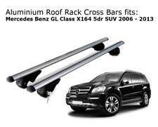 Aluminium Roof Rack Cross Bars fits MERCEDES BENZ GL CLASS X164 2006-2013