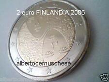 2 euro 2006 fdc Finlandia finlande finnland suomi finland Финляндия 芬兰 フィンランド