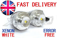 BMW E60 E61 LCI FACELIFT H10W HALOGEN 5W LED Angel Eyes Marker Upgrade Bulbs