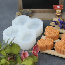 Silicone Mold Chinese Festive gifts 4 holes Soap Chocolate Handmade Craft Tool