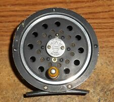 EARLY PFLUEGER MEDALIST NO. 1494 FLY REEL/ROUND LINE GUIDE/METAL SHIELD/RARE!
