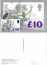 GB PHQ CARD NO. D1 1993 BRITANNIA HIGH VALUE DEFINITIVE FRONT BUREAU FDI