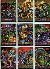 The Complete Avengers Complete Greatest Enemies Chase Card Set GE1-9