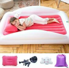 Sleapah Inflatable Toddler Travel Bed – Portable Bed Air Mattress set for Kids